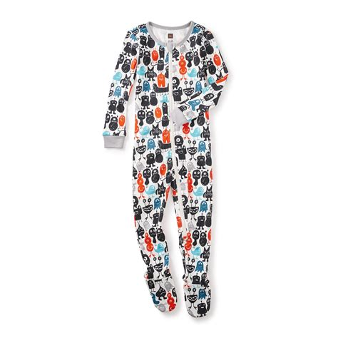tea pajamas monsterrific baby pajamas tea collection