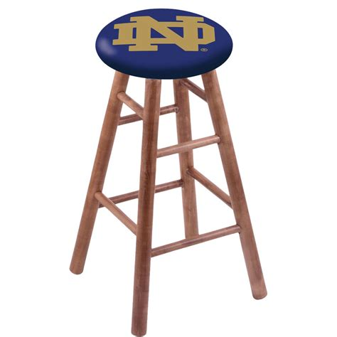 Notre Dame Wood Bar Stools by Bar Stool Rc30msmednd Nd Of Notre Dame