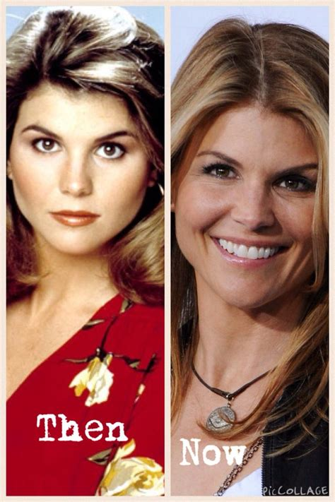 lori loughlin now lori loughlin then and now full house pinterest then