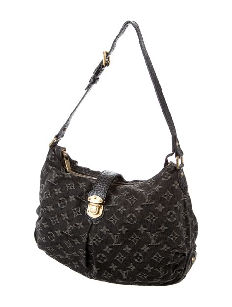 louis vuitton monogram denim slightly bag handbags