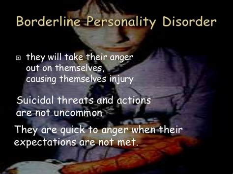 constant mood swings and anger personality disorders psychology