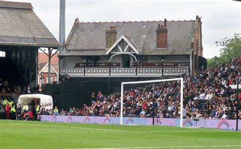 The Cottage Fulham by Match Report Fulham 1 Newcastle United 0 Craven Cottage