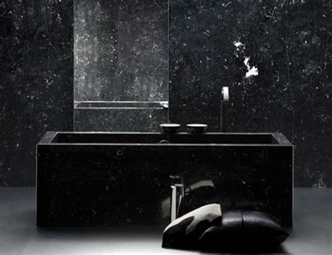 all black bathroom 19 almost pure black bathroom design ideas digsdigs