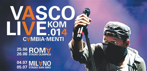 cd vasco 2014 scaletta concerto vasco roma e tour 2014