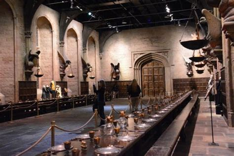 hogwarts dining room hogwarts dining room set picture of warner bros studio