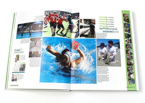 Yearbook Section Ideas by 1000 Ideas About Yearbook Sports Spreads On