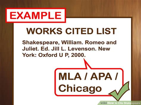 Macbeth Essay Citations by How To Cite Shakespeare With Pictures Wikihow