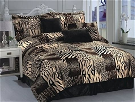 Bedcover California Mukti king size animal print comforter set foter