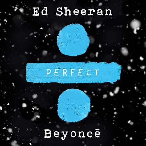 ed sheeran perfect usa perfect duet album cover by ed sheeran