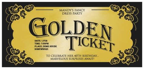 golden ticket invitation template october 2016 webcompanion info