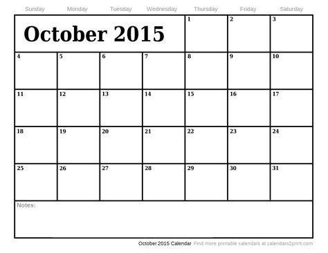 printable calendar august december 2015 october 2015 printable calendar