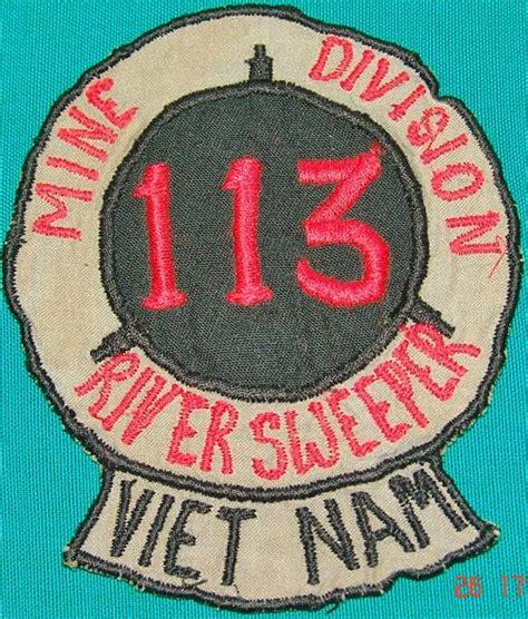 Mine Pocket Patch mine division 113 river sweeper pocket patch navy coast