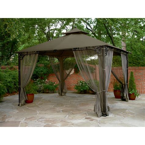 backyard canopy tent garden oasis highland 10 ft x 12 ft gazebo shop your