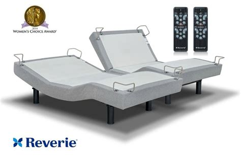 king split adjustable bed split king reverie 5d adjustable bed with 10 massage