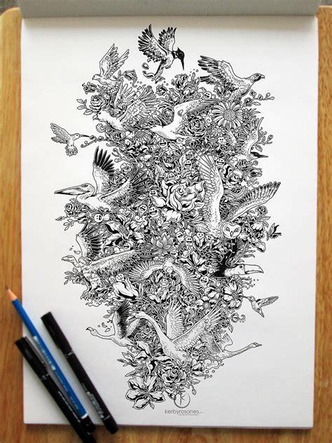 pen doodles on impressively detailed pen doodles by kerby rosanes