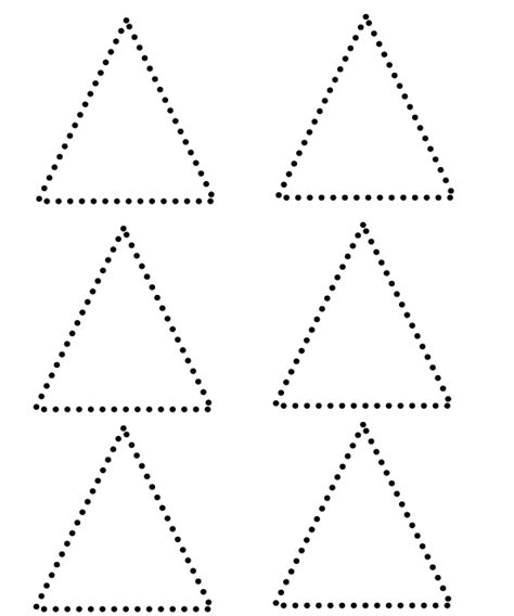 triangle printable worksheets for preschoolers free coloring pages of shape triangle