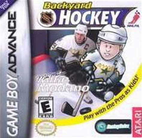 Backyard Hockey Backyard Hockey Nintendo Boy Advance Gba