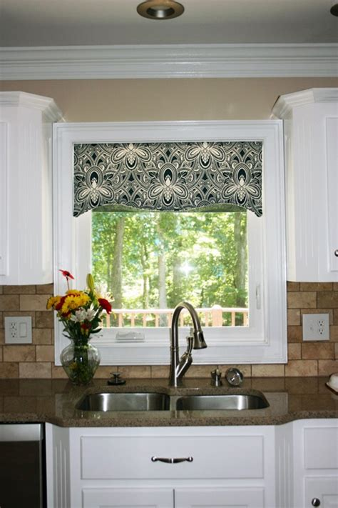 kitchen curtains renewing your kitchen curtains