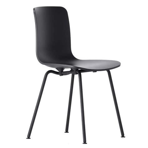 stuhl untergestell vitra hal stuhl schwarz pulverbeschichtetes