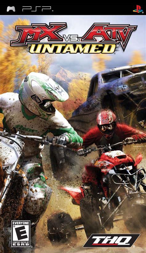 theme psp moto cross mx vs atv untamed game giant bomb