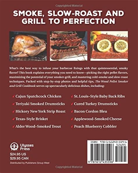Pdf Wood Pellet Smoker Grill Cookbook by The Wood Pellet Smoker And Grill Cookbook Recipes And