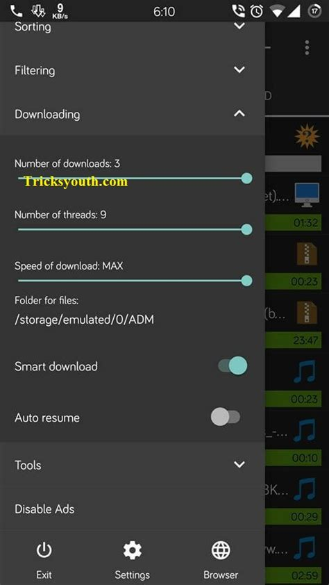 downloader android phone working how to speed up speed upto 9 times in android