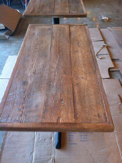 custom wood table tops reclaimed wood table tops restaurant table tops custom