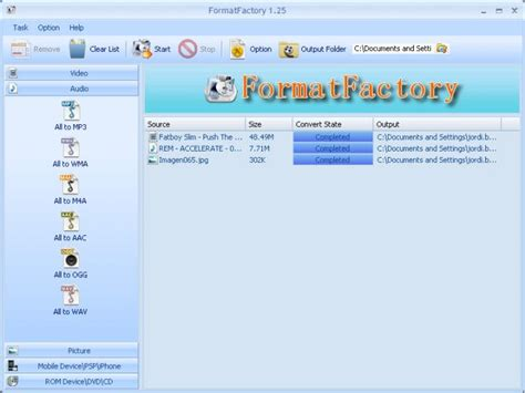 format factory ultima versão descargar format factory gratis auto design tech