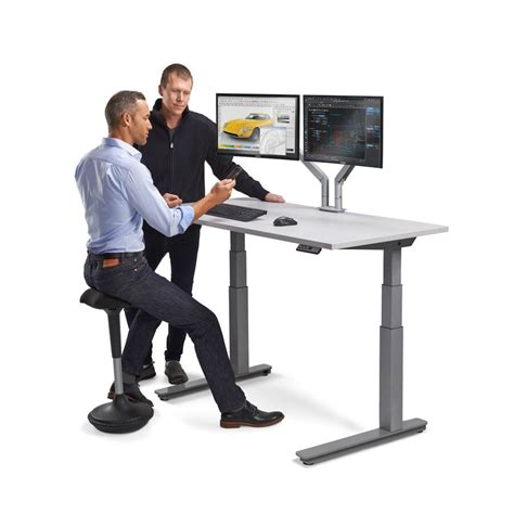 standup desk standing workstation electric adjustable height desk