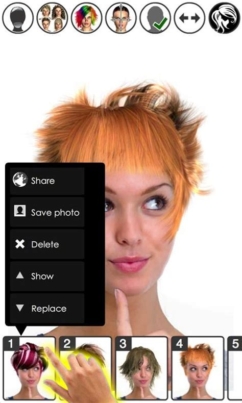 Play Magic Hairstyler by Magic Mirror Hair Styler Android Apps On Play