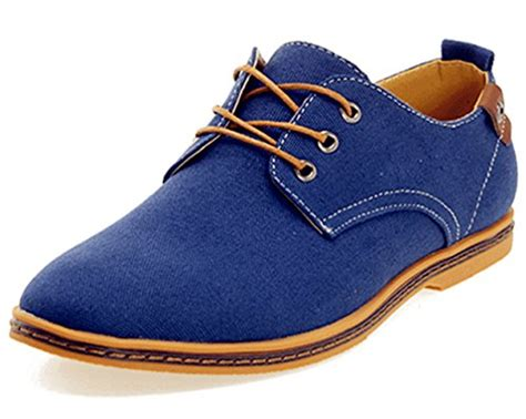 s oxford casual shoes dadawen s canvas oxford casual shoes
