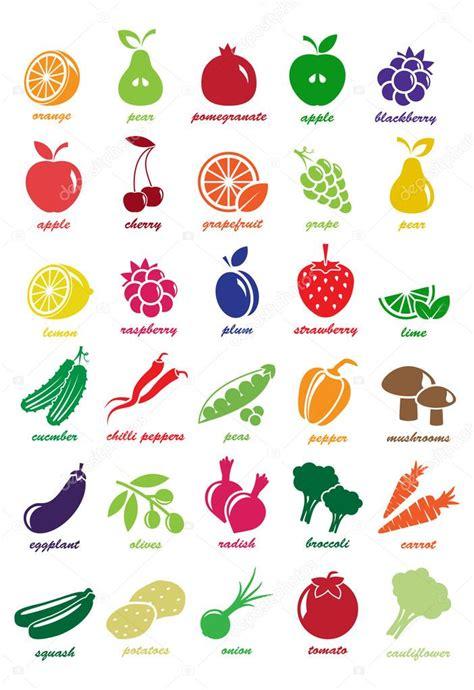 fruity v vector coraz 243 n hecho de frutas y verduras vector de
