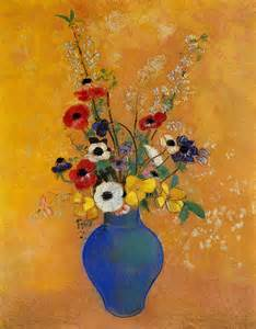 vase of flowers odilon redon wikipaintings org