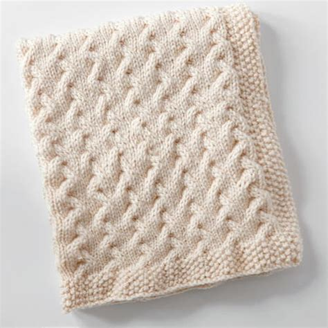 cable knit baby blanket whirlwinds baby blanket allfreeknitting