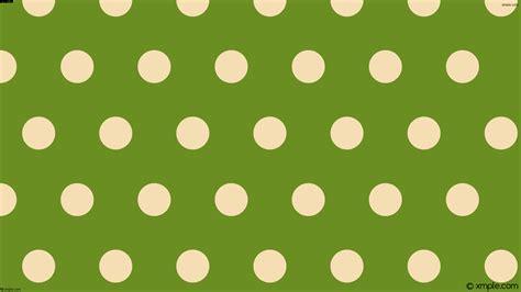 green polka dot wallpaper wallpaper green brown polka dots hexagon 6b8e23 f5deb3