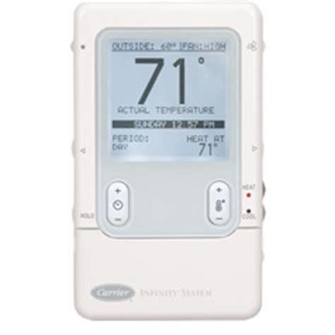 carrier infinity touch thermostat air conditioning plumber plumbers toilet water heaters