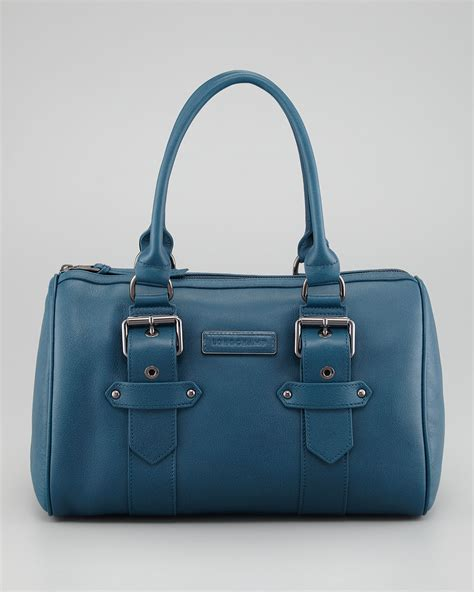 Is Kate Moss For Topshops Studded Pouch Handbag A Complete Rip by Longch Kate Moss For Longch Duffel Bag In Blue Lyst