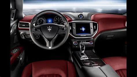 maserati ghibli interior 2016 maserati ghibili interior exterior review