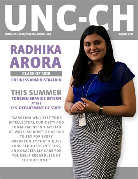 Unc Admissions Office by Summer Unc Graphics Unc Admissions Emily Gregoire