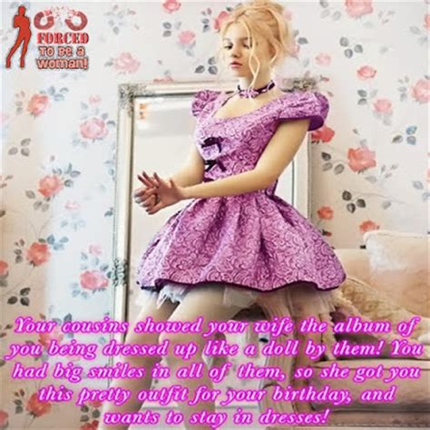 sissy petticoated husbands i like forced feminization tg captions and more petticoated by wife