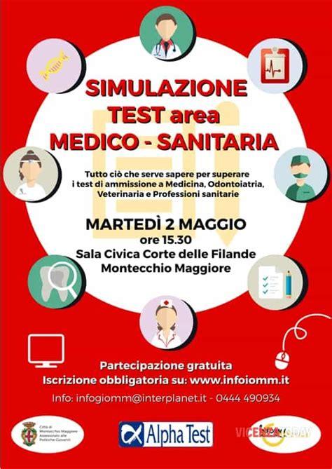 simulazioni test medicina simulazione test di ammissione per l area medico sanitaria