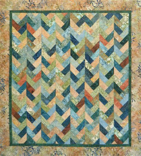 Braid Quilt Pattern Free by Braids On Parade Pattern 57 X 51 Quot By Carolyn Griffin At Far Flung Quilts Made In Bali Pop