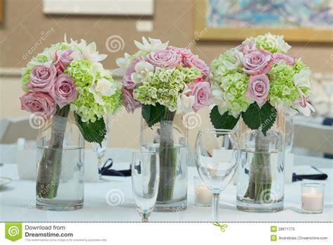 bouquet centerpieces wedding bouquet centerpieces royalty free stock photo