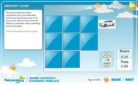 elearning templates free the learning smith captivate 7 elearning template