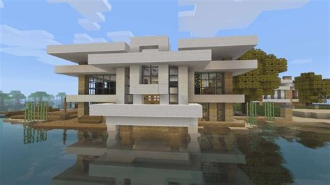 Blueprints To Build A House Modern House | how to build a beach house in minecraft beautiful house