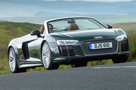 New Audi R8 by New Audi R8 Spyder V10 Plus 2017 Review Auto Express