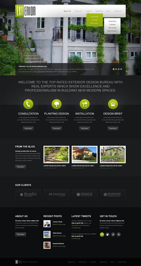 themes wordpress black black exterior design wordpress theme web design