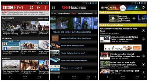 android news apps ui patterns of android news apps dzone java