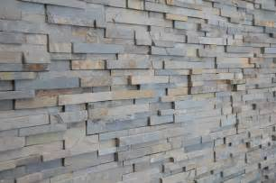 Ledger Stone Backsplash - multicolor slate stack stone modern kitchen minneapolis by home tile design