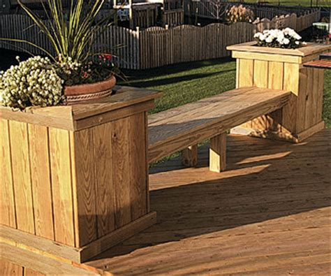 deck planter bench woodwork deck bench planter plans pdf plans